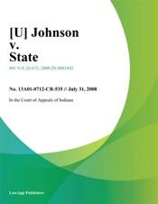 Download Johnson v. State