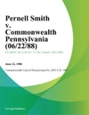 Pernell Smith V Commonwealth Pennsylvania