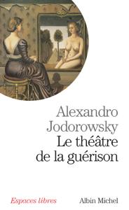 Le Théâtre de la guérison La couverture du livre martien