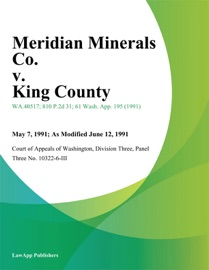 Meridian Minerals Co V King County