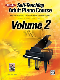 Alfred's Self-Teaching Adult Piano Course, Volume 2