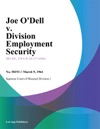 Joe Odell V Division Employment Security
