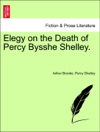 Elegy On The Death Of Percy Bysshe Shelley