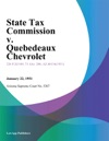 State Tax Commission V Quebedeaux Chevrolet