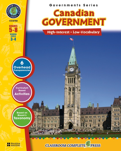 Canadian Government by Brenda Rollins on Apple Books