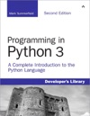 Programming In Python 3 A Complete Introduction To The Python Language 2e