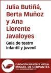 Gua De Teatro Infantil Y Juvenil