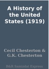 A History Of The United States 1919