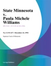 122394 State Minnesota V Paula Michele Williams