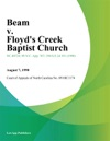 Beam V Floyds Creek Baptist Church