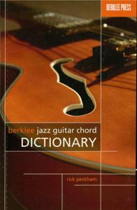 Berklee Jazz Guitar Chord Dictionary (Music Instruction) Libro Cover