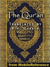 the qur an quran koran al qur an by m h mohammad habib shakir