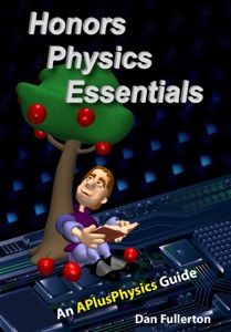 Honors Physics Essentials: An APlusPhysics Guide to High School Physics Book Cover