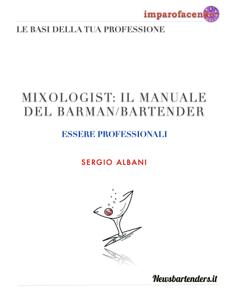 MIXOLOGIST: IL MANUALE DEL BARMAN/BARTENDER Copertina del libro
