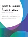 012996 Bobby L Camper V Daniel B Minor