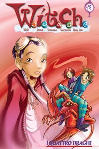 I quattro draghi Libro Cover