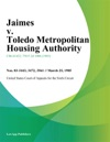 Jaimes V Toledo Metropolitan Housing Authority