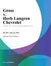 Gross V Herb Lungren Chevrolet