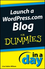 Launch A Wordpress Com Blog In A Day For Dummies