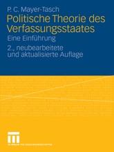 Politische Theorie Des Verfassungsstaates