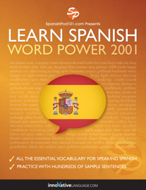 Learn Spanish - Vocabulary 2001