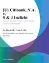 U Citibank NA V S  J Inzlicht