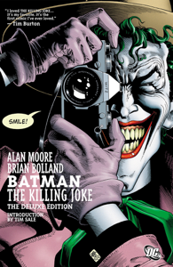 Batman The Killing Joke Deluxe Libro Cover