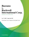 Bazzano V Rockwell International Corp