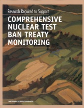 Research Required to Support Comprehensive Nuclear Test Ban Treaty Monitoring