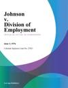 Johnson V Division Of Employment