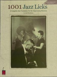 1001 Jazz Licks (Music Instruction) La couverture du livre martien