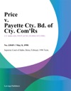 Price V Payette Cty Bd Of Cty Comrs