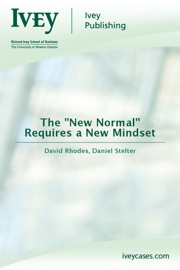 The New Normal Requires A New Mindset