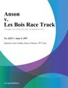 Anson V Les Bois Race Track