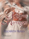 Mistress Or Marriage