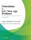 Nettesheim V SG New Age Products