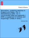 Moonshine Containing Sketches In England And Wales Vol 2 Miscellaneous Trifles Vol 3 Unconnected Trifles And Appendix With A Supplement Of Extracts And Engravings Chiefly In Verse VOLII
