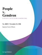 Download and Read Online People V. Gendron