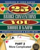 25 Bridge Conventions You Should Know: More Complicated