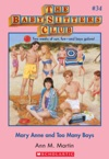 The Baby-Sitters Club 34 Mary Anne And Too Many Boys