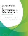 United States V Intercontinental Industries Inc