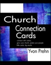 Church Connection Cards Special Edition Connect With Visitors Grow Your Church Pastor Your People Little Cards Big Results