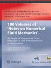 100 Volumes Of Notes On Numerical Fluid Mechanics