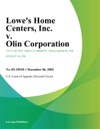 Lowes Home Centers Inc V Olin Corporation
