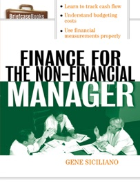 FINANCE FOR NON-FINANCIAL MANAGERS
