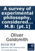 A Survey Of Experimental Philosophy, Considered In Its Present State Of Improvement. Illustrated With Cuts. ... By Oliver Goldsmith, M.B: [pt.1]