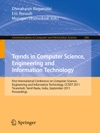 Trends In Computer Science Engineering And Information Technology