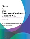 Owen V Cna InsuranceContinental Casualty Co