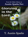 Glorying In The Lord