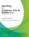 Sperberg V Goodyear Tire  Rubber Co